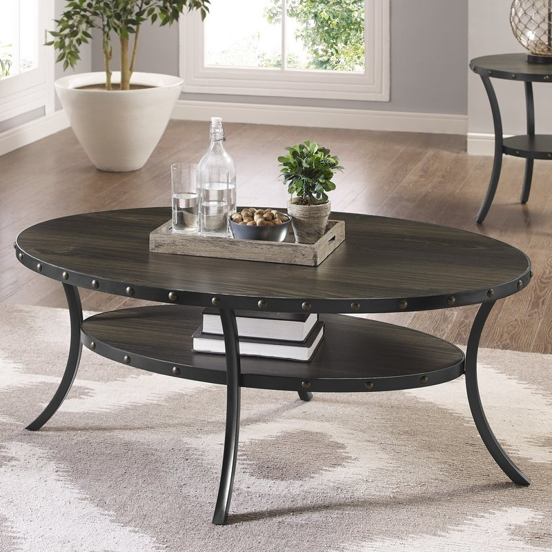 Awesome Common Espresso Coffee Tables Intended For Brayden Studio Raquel Espresso Coffee Table Reviews Wayfair (Image 1 of 50)