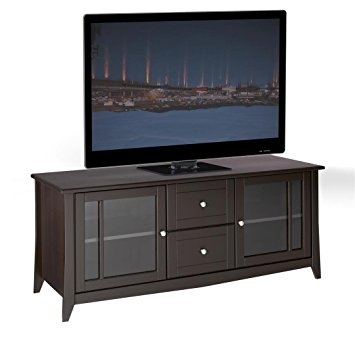 Awesome Common Expresso TV Stands Regarding Amazon Elegance 58 Inch Tv Stand 200117 From Nexera Espresso (Image 6 of 50)