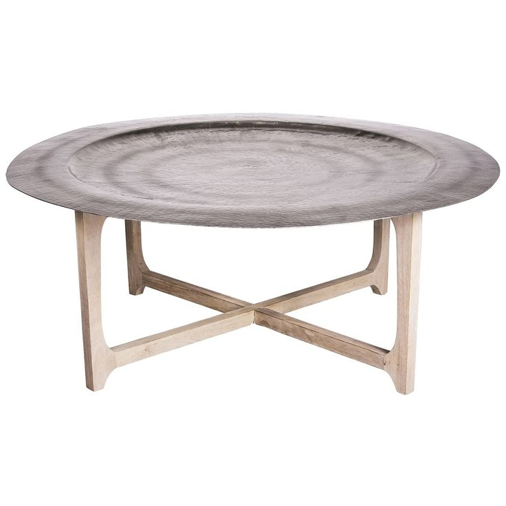Awesome Common Hammered Silver Coffee Tables Inside Evoke The Allure Of Morocco With The Laide Coffee Table Featuring (Image 7 of 50)