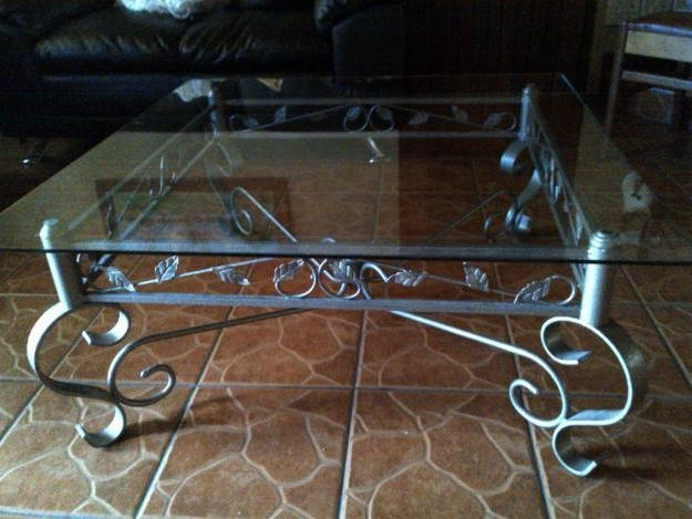 Awesome Common Iron Glass Coffee Table Regarding Coffee Table Iron Coffee Table With Glass Top Large Wood Coffee (Image 4 of 50)
