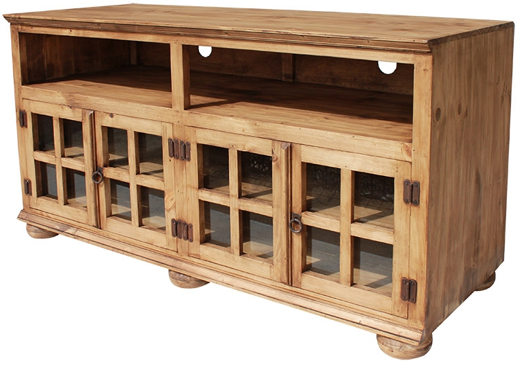 Awesome Common Pine TV Stands With Regard To Rustic Furniture Jaime Mexican Rustic Pine Tv Stand (Image 6 of 50)