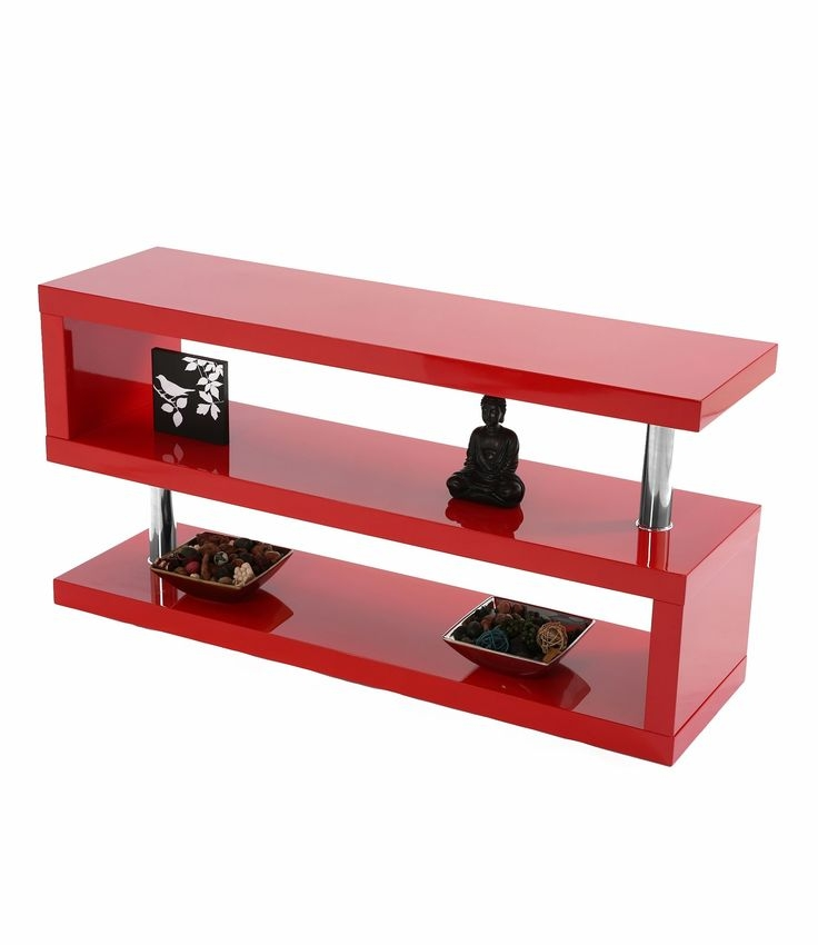 Awesome Common Red Gloss TV Stands In 523 Best Tv Size Tv Furniture Images On Pinterest Tv Furniture (Image 6 of 50)