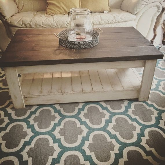 Awesome Common Rustic Coffee Tables With Bottom Shelf Intended For Best 20 Tables Ideas On Pinterest Furniture House Furniture (View 22 of 50)