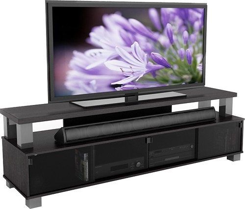 Awesome Common Sonax TV Stands With Sonax Tv Stand For Tvs Up To 80 B 003 Rbt Best Buy (View 3 of 50)