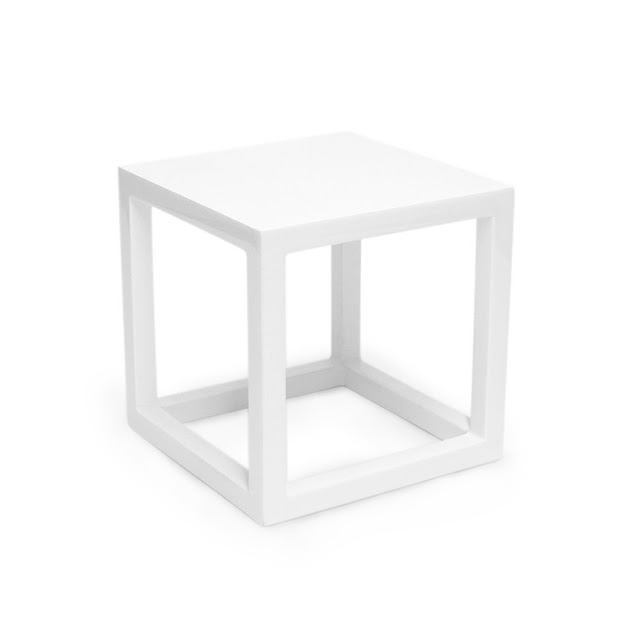 Awesome Common White Cube Coffee Tables Regarding Jonathan Adler White Lacquer Cube Copycatchic (View 23 of 40)