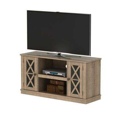 Awesome Deluxe Cheap Oak TV Stands Pertaining To Tv Stands Living Room Furniture The Home Depot (Image 5 of 50)