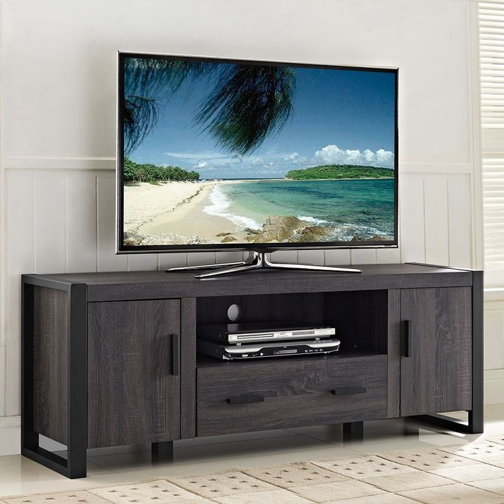 Awesome Deluxe Corner TV Stands For 60 Inch Flat Screens Regarding Best 25 65 Tv Stand Ideas On Pinterest Dresser Tv Stand Red Tv (Image 7 of 50)
