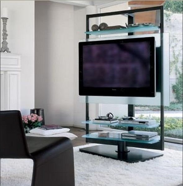 Awesome Deluxe Glass Corner TV Stands For Flat Screen TVs Within 27 Best Tv Stands Images On Pinterest Tv Stands Large Screen (Image 4 of 50)