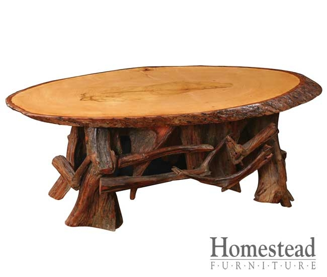 Awesome Deluxe Heritage Coffee Tables Within Settlers Heritage Slab Coffee Table Homestead Furniture (Image 4 of 50)