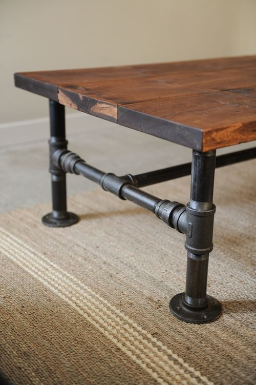Awesome Deluxe Industrial Style Coffee Tables Intended For 25 Best Industrial Style Coffee Table Ideas On Pinterest (View 12 of 50)