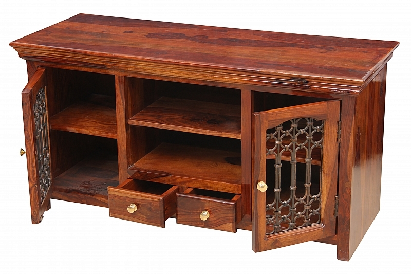 Awesome Deluxe Jali TV Cabinets For Waca Waca Jali Tv Cabinet Media Console Wooden Cabinet (Image 6 of 50)