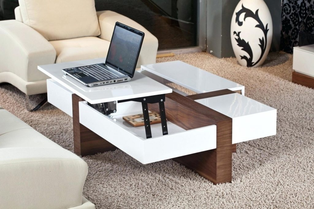 Awesome Deluxe Large Low Level Coffee Tables For Coffee Table Coffee Table Awesome White Low Rectangle Modern (View 13 of 50)