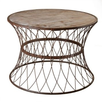 Awesome Deluxe Round Steel Coffee Tables With Regard To Beautiful Round Coffee Table Metal Hammary Furniture Hammary (Image 7 of 50)