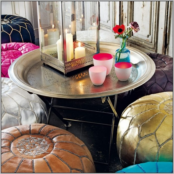 Awesome Deluxe Round Tray Coffee Tables Intended For Round Coffee Table Tray (Image 6 of 50)