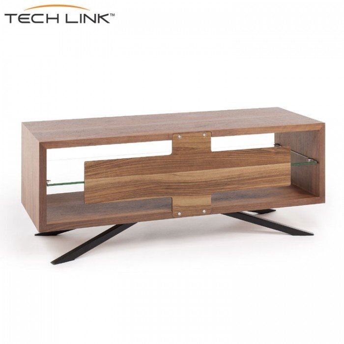 Awesome Deluxe Techlink Arena TV Stands Pertaining To Techlink Aa110w Arena Walnut Tv Stand  (Image 2 of 50)