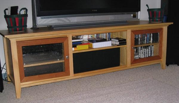 Awesome Deluxe Wide Screen TV Stands Regarding Pdf Woodwork Widescreen Tv Stand Plans Download Diy Plans The (Image 3 of 50)