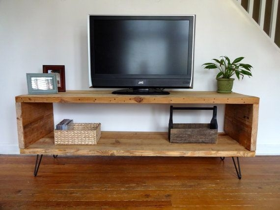 Awesome Deluxe Wooden TV Stands For Flat Screens For Best 25 Wooden Tv Stands Ideas On Pinterest Mounted Tv Decor (View 42 of 50)