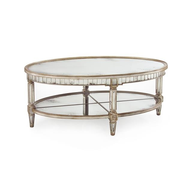 Awesome Elite Antique Mirrored Coffee Tables With Regard To Browse Stunning Coffee Tables For A Beautiful Living Room (View 14 of 40)