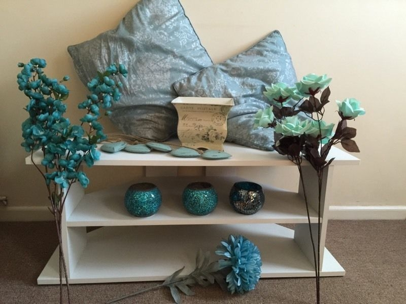 Awesome Elite Blue TV Stands Inside Teal Blue Tv Stand Home Design Ideas (View 43 of 50)