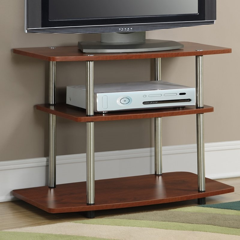 Awesome Elite Corner TV Stands For 60 Inch TV With Regard To Modern Contemporary Tv Stands Youll Love Wayfair (Image 8 of 50)