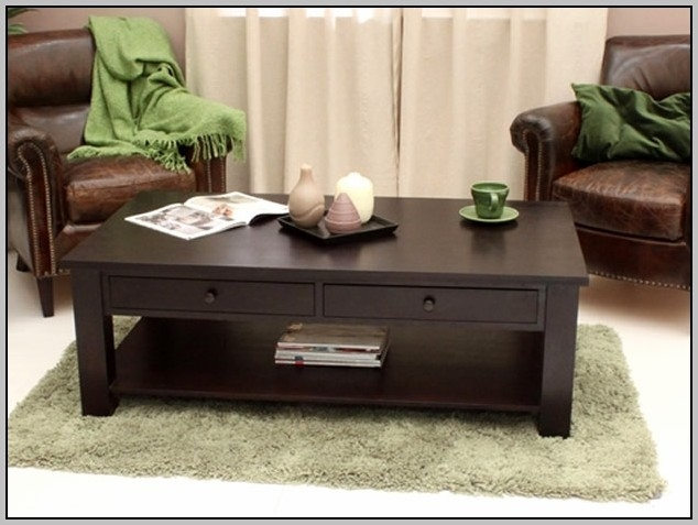 Awesome Elite Dark Wooden Coffee Tables Pertaining To Low Dark Wood Coffee Tables Coffee Table Home Decorating Ideas (Image 3 of 50)