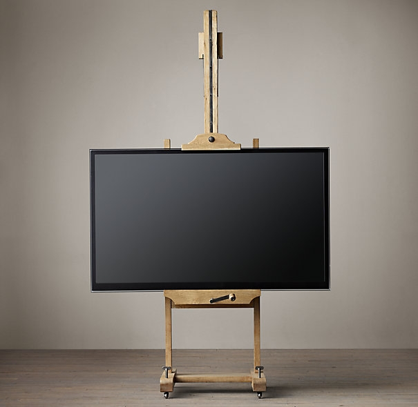 Awesome Elite Easel TV Stands For Flat Screens With Regard To 8 Great Ways To Incorporate A Flat Screen Television Into A Room (View 5 of 50)
