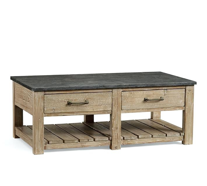 Awesome Elite Griffin Coffee Tables Within Pottery Barn Griffin Coffee Table Reviews Railroad Cart Coffee (View 25 of 50)