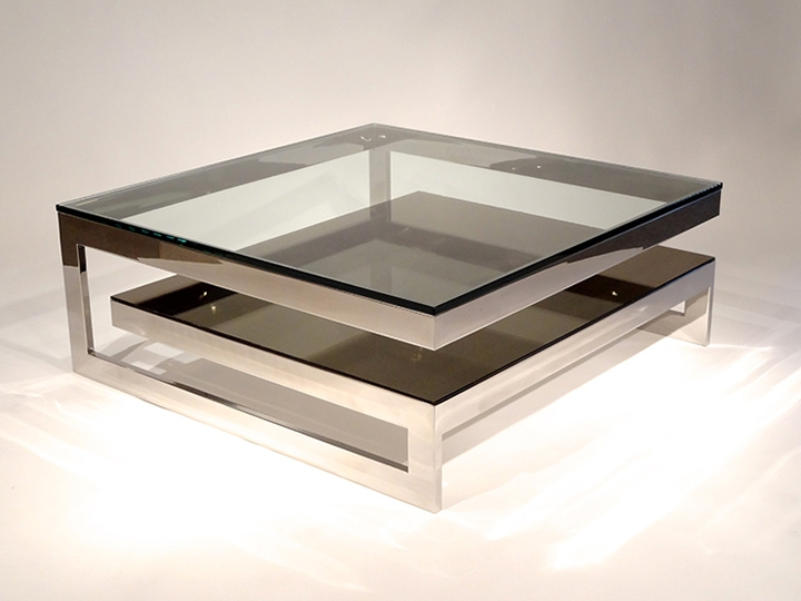 Awesome Elite Large Square Coffee Tables Inside Large Square Coffee Tables Wood Diy Home Interior Ideas (Image 10 of 50)