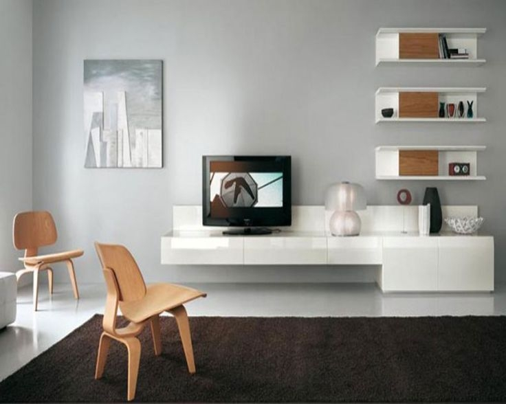 Awesome Elite Long White TV Cabinets Within Best 25 Wall Mounted Tv Unit Ideas On Pinterest Tv Cabinets Tv (Image 6 of 50)