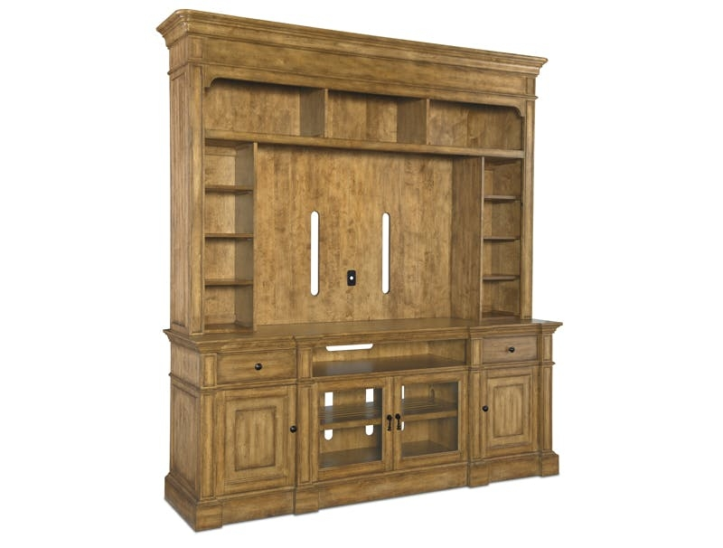 Awesome Elite Maple TV Cabinets In Home Entertainment Furniture Consoles Hooker Furniture (View 47 of 50)