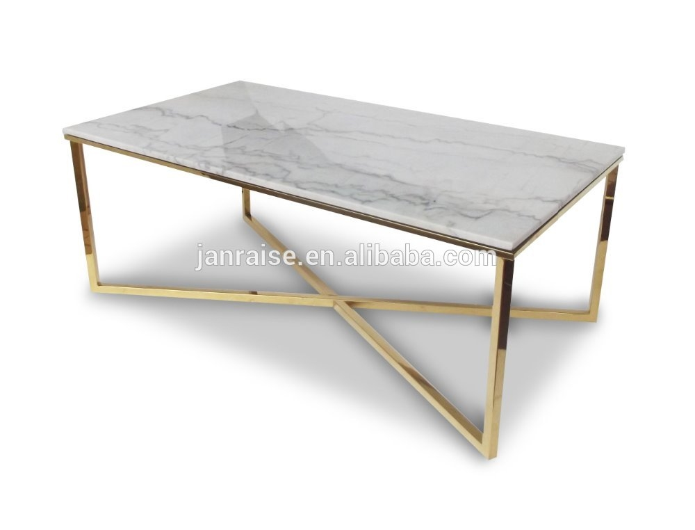 Awesome Elite Marble And Metal Coffee Tables Pertaining To Living Room Top Marble Oval Coffee Table West Elm Pertaining To (Image 8 of 40)