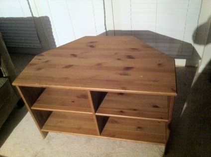 Awesome Elite Pine Corner TV Stands Inside 30 Obo Ikea Pine Finished Corner Tv Stand For Sale In Rockville (Image 4 of 50)