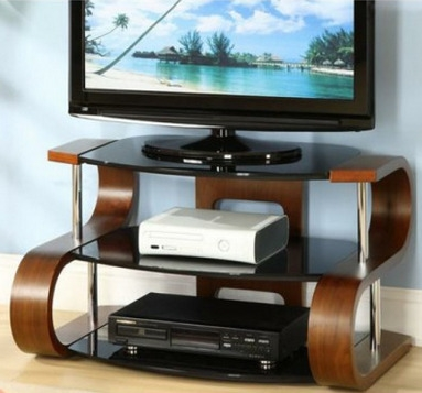 Awesome Elite Stylish TV Stands Pertaining To Hidden Wire Tv Stand (Image 5 of 50)
