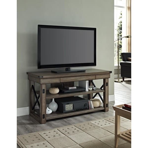 Awesome Elite TV Stands For 50 Inch TVs In Avenue Greene Woodgate Wood Veneer Tv Stand For Up To 50 Inch Tvs (Image 4 of 50)