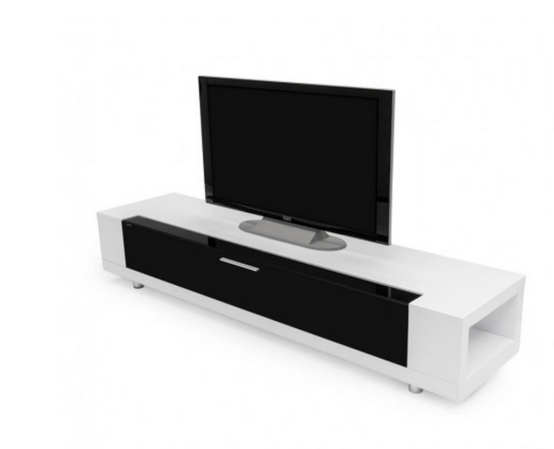 Awesome Elite White Modern TV Stands In Top 10 Modern Tv Stands For Your Living Room Cute Furniture (Image 5 of 50)