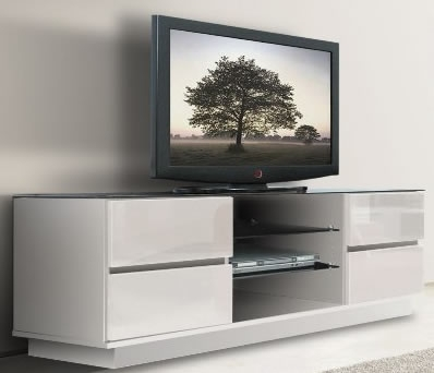 Awesome Elite White TV Cabinets Throughout Stunning White Tv Unit Brusali Tv Unit White Ikea Dream Home (Image 7 of 50)