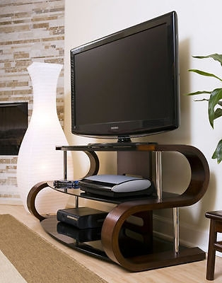 Awesome Famous Dark Wood TV Stands With Regard To 60 Tv Stand Media Storage Entertainment Center Modern Dark Wood (Image 6 of 50)