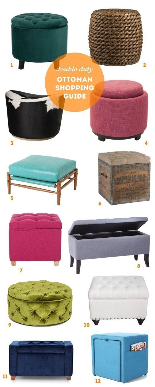 Awesome Famous Green Ottoman Coffee Tables Inside Best 25 Ottoman Decor Ideas On Pinterest Cozy Homes Pink (Image 8 of 50)
