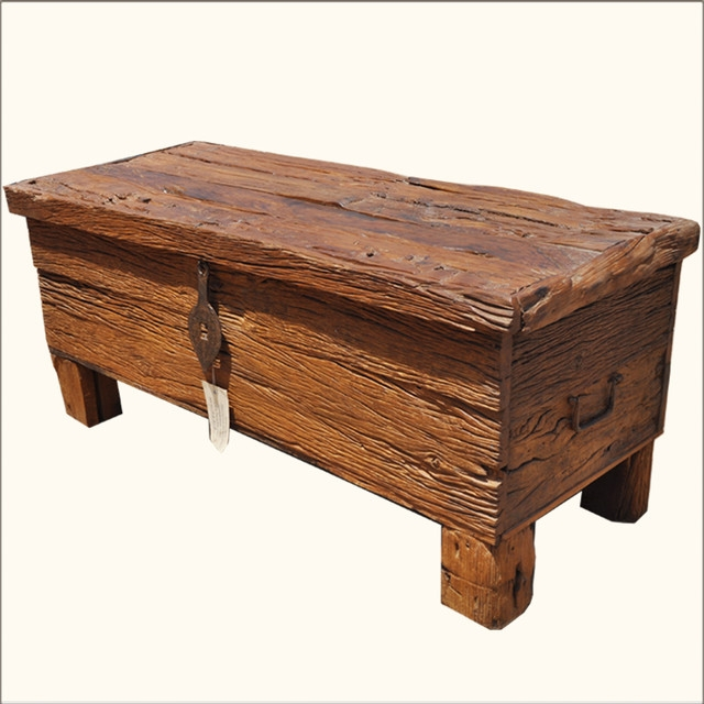 Awesome Famous Large Low Rustic Coffee Tables Throughout Coffee Tables Low Prices Reclaimed Wood Lodge Cabin Rustic Room (Image 2 of 50)