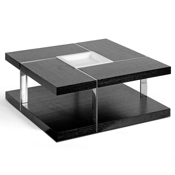 Awesome Famous Metal Square Coffee Tables Intended For Best 25 Black Square Coffee Table Ideas On Pinterest Square (Image 7 of 40)