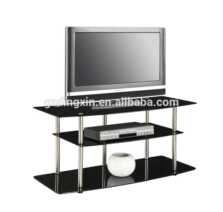 Awesome Famous Modern Glass TV Stands Within Modern Black Glass Tv Stands Buy Walmart Tv Standsmobile Tv (Image 5 of 50)