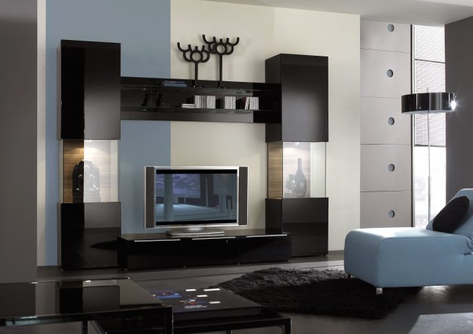Awesome Famous Modern TV Cabinets Designs Regarding Furniture Modern Corner Tv Cabinet Designs Living Room Furniture (Image 5 of 50)