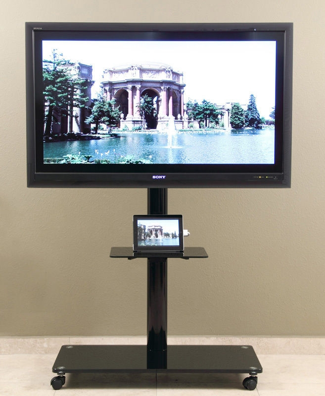 Awesome Famous Single TV Stands With Regard To Tv Stands Contemporary 70 Inch Tv Stands On Wheels Ideas (View 10 of 50)