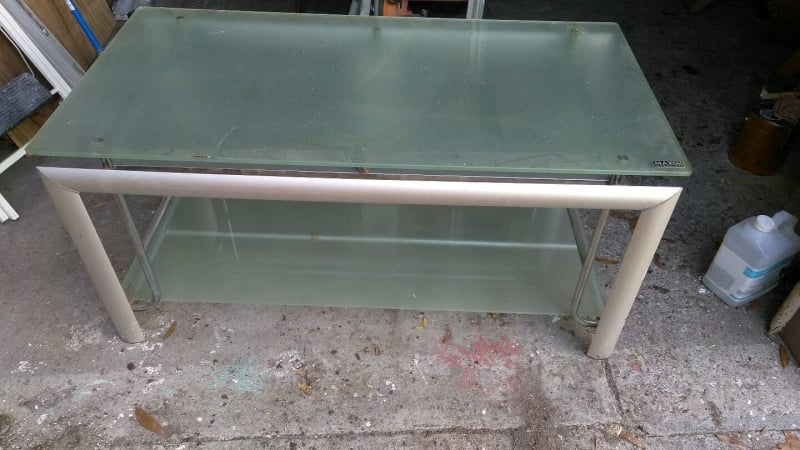 Awesome Famous Smoked Glass TV Stands Intended For Maxim Magazine Tv Stand For Sale In Dunedin Fl 5miles Buy And Sell (Image 5 of 50)