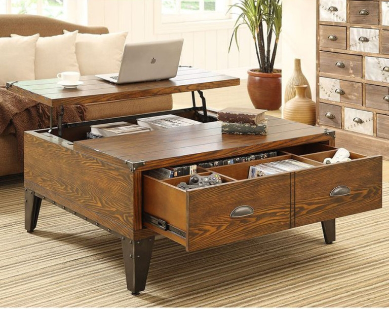 Awesome Famous Square Storage Coffee Tables Regarding Outstanding Square Coffee Table With Storage Cheap (View 22 of 50)