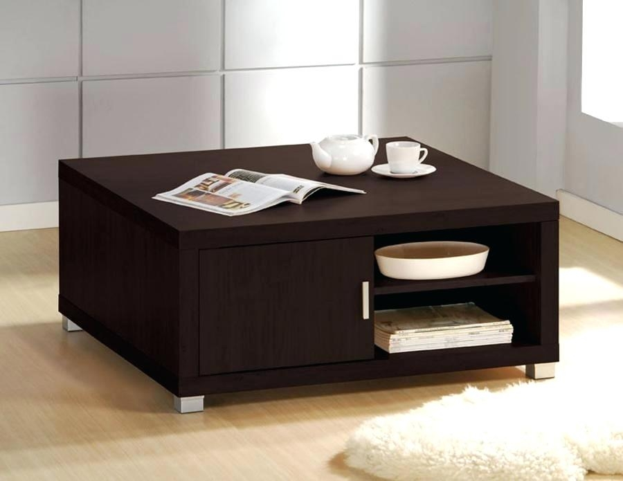 Awesome Famous Square Storage Coffee Tables Regarding Small Coffee Table With Storage Dealhackrco (View 18 of 50)