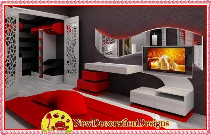 Awesome Famous Stylish TV Cabinets Regarding Modern Wall Unit Tv Media Cabinets With Stylish Tv Unit Designs (Image 7 of 50)