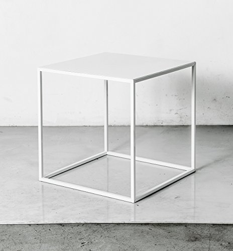 Awesome Famous White Cube Coffee Tables With Amazon White Cube Side Table End Table Stool Or Nightstand (View 3 of 40)