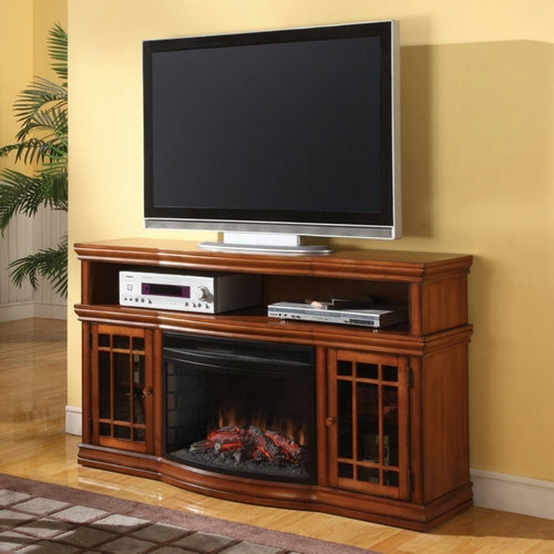 Awesome Fashionable Bjs TV Stands Intended For Best Tv Stand With Fireplace Top 10 Of 2017 Updated (Image 7 of 50)