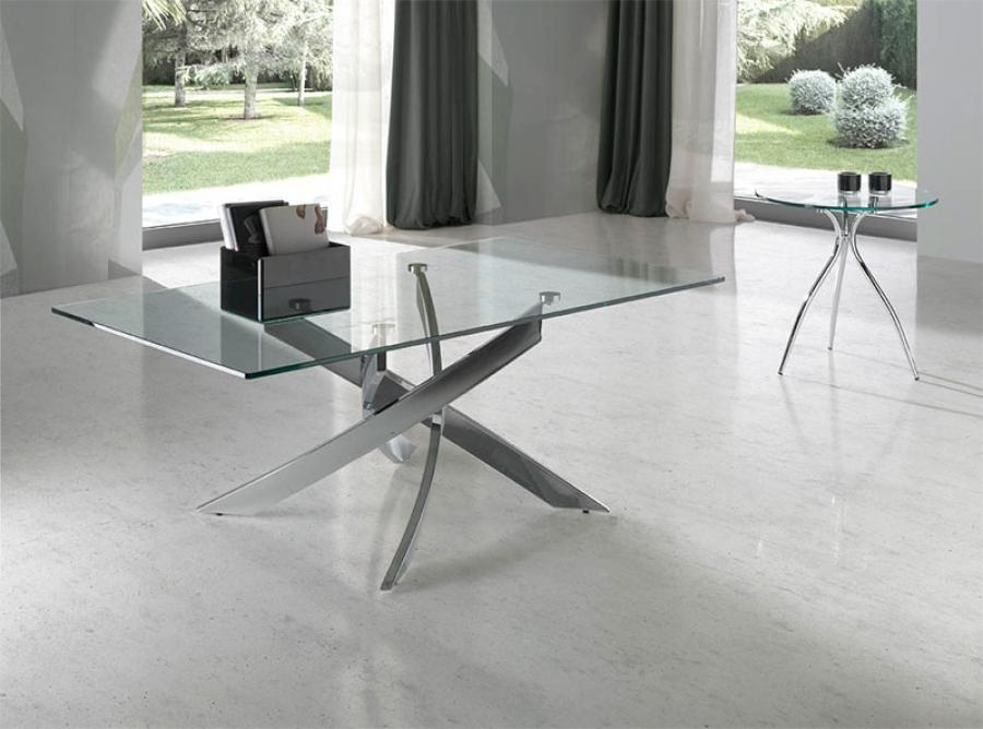 Awesome Fashionable Chrome Glass Coffee Tables With Regard To Cheap Glass Coffee Tables (Image 7 of 50)